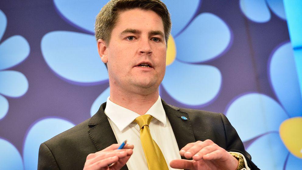 Oscar Sjöstedt, Sverigedemokraternas ekonomisk-politiske talesperson.