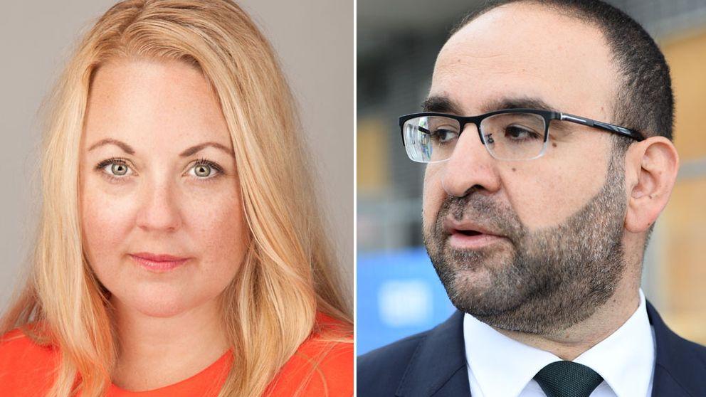 Mehmet Kaplan, Rebecca Weidmo Uvell