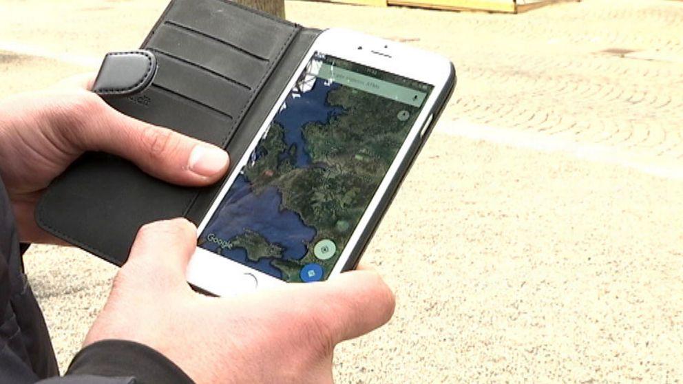 sociala medier, appar, mobiltelefon, flytingar, flyktvägar