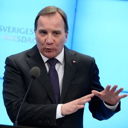 Mall of Scandinavia, Löfven