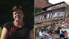 Ulla bevittnade jordbävningen i Nepal.