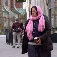Maria kommer från Rumänien och var en av dem som bodde i Sorgenfri-lägret innan det revs.