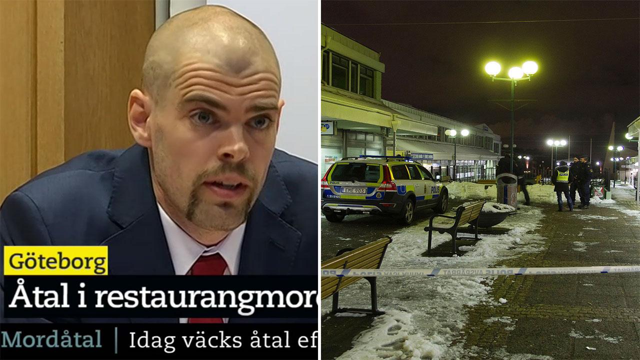 Mordatal for polis efter dodsskott