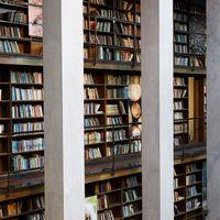 Ett bibliotek