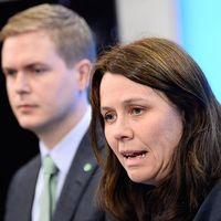 Joakim Larsson, sammankallande i MP:s riksvalberedning, är fåordig.