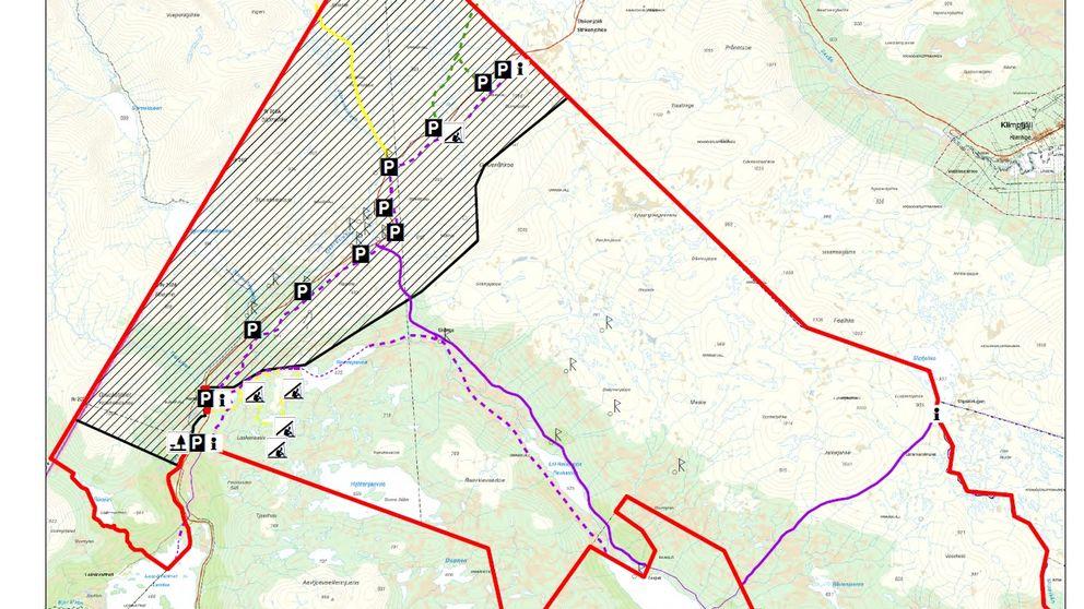 stekenjokk karta Stekenjokk kan bli naturreservat   SVT Nyheter stekenjokk karta