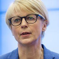 Gymnasieskola och Elisabeth Svantesson.