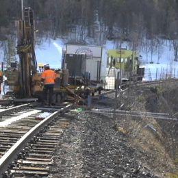 Nu ska järnvägsbanken vid Stora Helvetet bytas ut