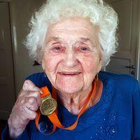 Gertrud Ekerot, medaljör i Vårruset
