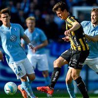 Malmö FF mot Häcken.