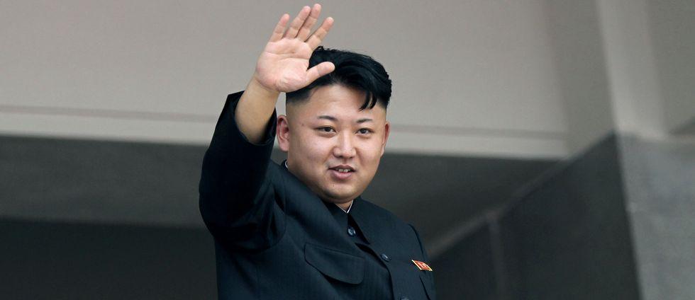Nordkoreas ledare Kim Jong Un.