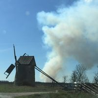 Branden på Gotland.