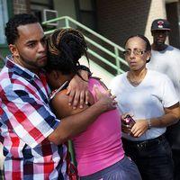Mamman Cherisse Miller sörjer ettåriga dotterns död, som sköts till döds i Brooklyn.
