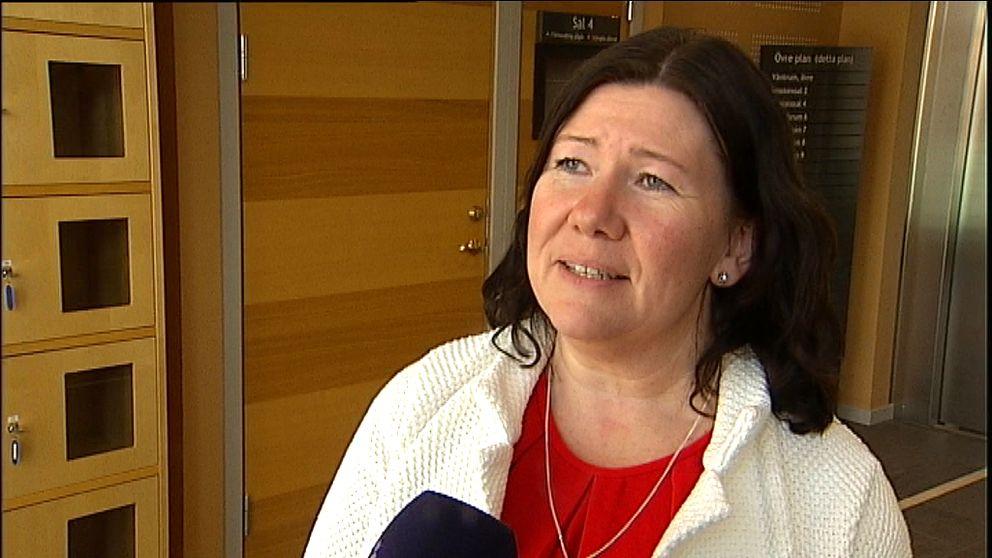 Stina Sjöqvist kammaråklagare i Sundsvall.