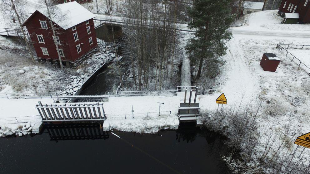 Kraftverk i Åman.