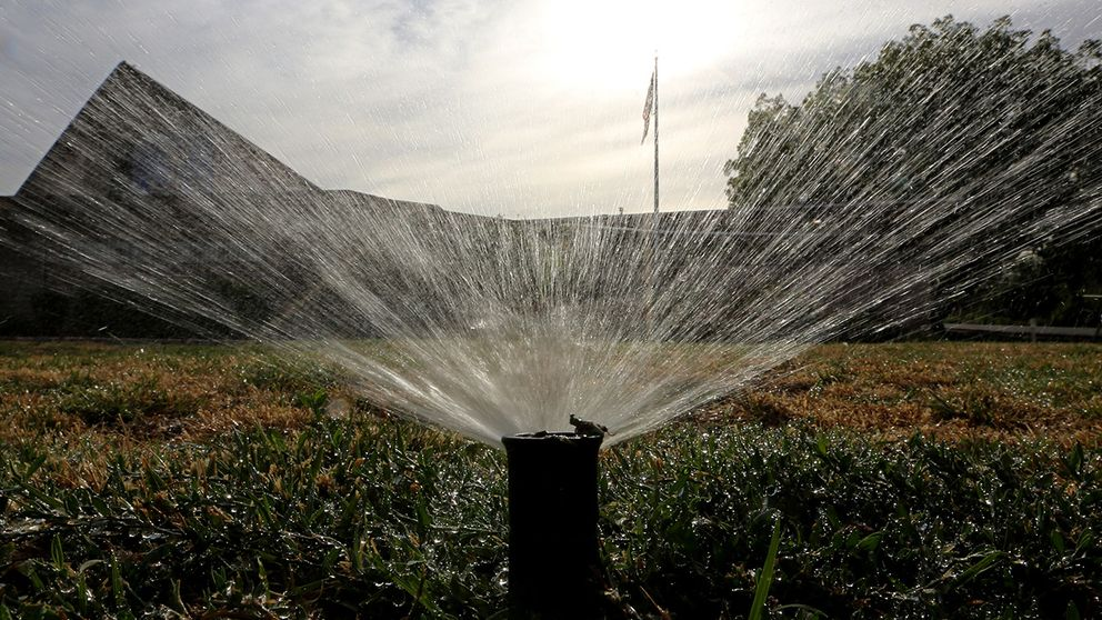 Vattenspridare
