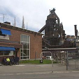 SSAB:s stålverk i Luleå