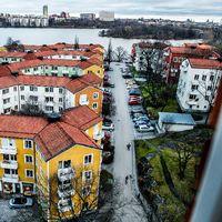 Vy över stadsdelen Gröndal i Stockholm
