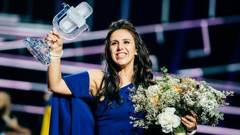 Ukrainas Jamala med 1944 är vinnaren av Eurovision Song Contest 2016.