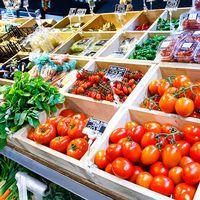 Grönsaker på marknad