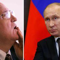Michail Gorbatjov skriver bok det Postsovjetiska Ryssland.