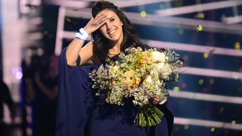 Jamala är vinnaren av Eurovision Song Contest 2016.