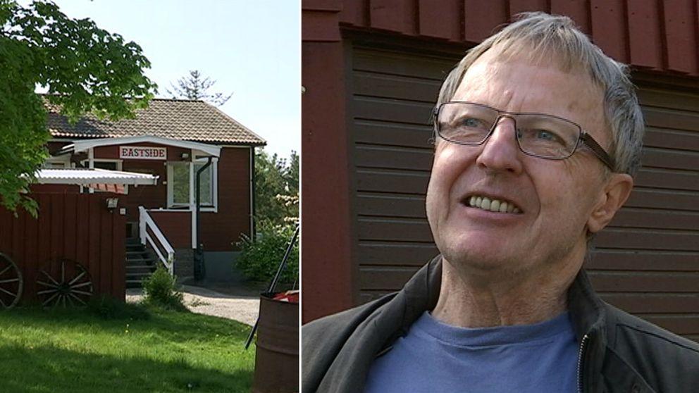 Den så kallade Hells Angels-villan och Per-Olof Jansson.