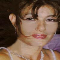 Bild på mördade Gülay Karagöz och blyertsskiss av mannen som stod åtalad och senare dömdes för mordet.