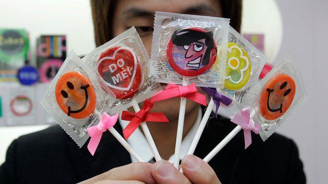 använda kondom
