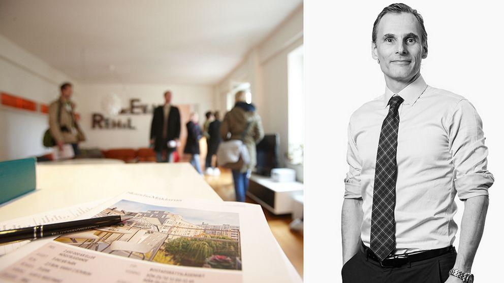 Johan Nordenfeldt på mäklarbyrån Erik Ohlsson.