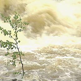Vattnet i Klarälven stiger