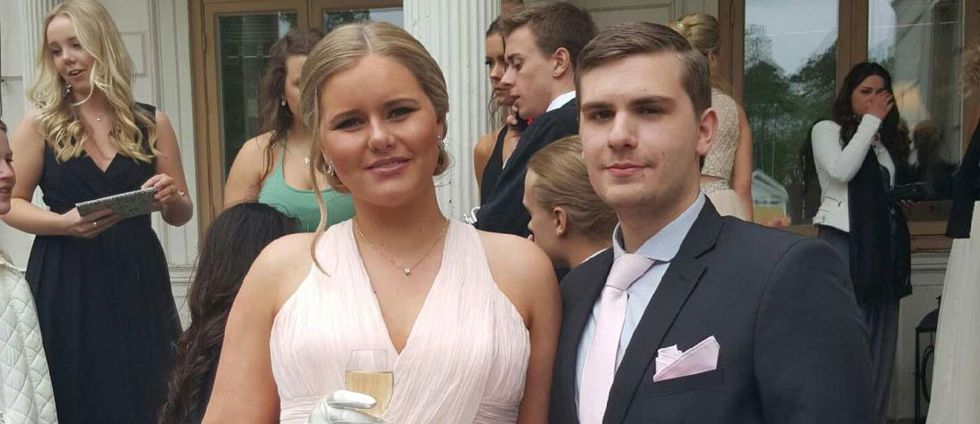 Felicia Björkman med pojkvän