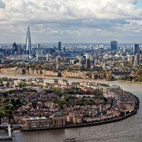 London sett från ovan.