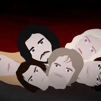 Bilden är en illustration – karaktärerna som avbildats kan fortfarande vara vid liv i serien. Men jubla inte för tidigt – enligt författaren måste ALLA dö.