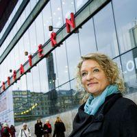 Kulturhuset Stadsteaterns teaterchef Anna Takanen.