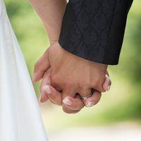 Gifta lever överlag längre. Arkivbild.