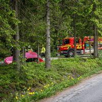 Singelolycka vid Haga utanför Borlänge.
