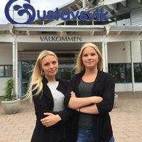 Tjejer inlåsta på Gustavsvik - Hanna Markfren och Irma Ärnsved.