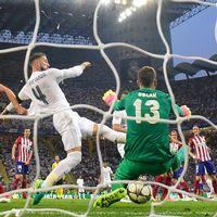 Ramos gör 1-0.