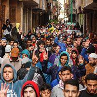 Anhängare till Muslimska brödraskapet demonstrerar i Kairo tidigare i år. Arkivbild.