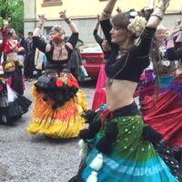 Dansare i karnevalståget