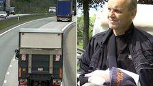 – Får jag någorlunda ordning på det här är jag jättetacksam, säger Lennart efter olyckan på E4.