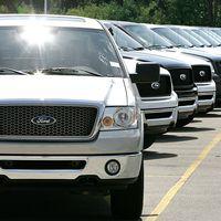 Konsumtionen i USA ökade rejält i april. Bland annat var det bilar som lockade.