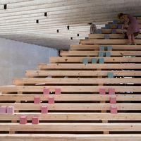 """Utsällningen """"In Therapy – Nordic Countries Face to Face"""" på Arkitekturbiennalen i Venedig."""