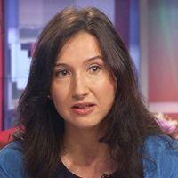 Aida Hadžialić (Socialdemokraterna) och Ebba Busch Thor (Kristdemokraterna)