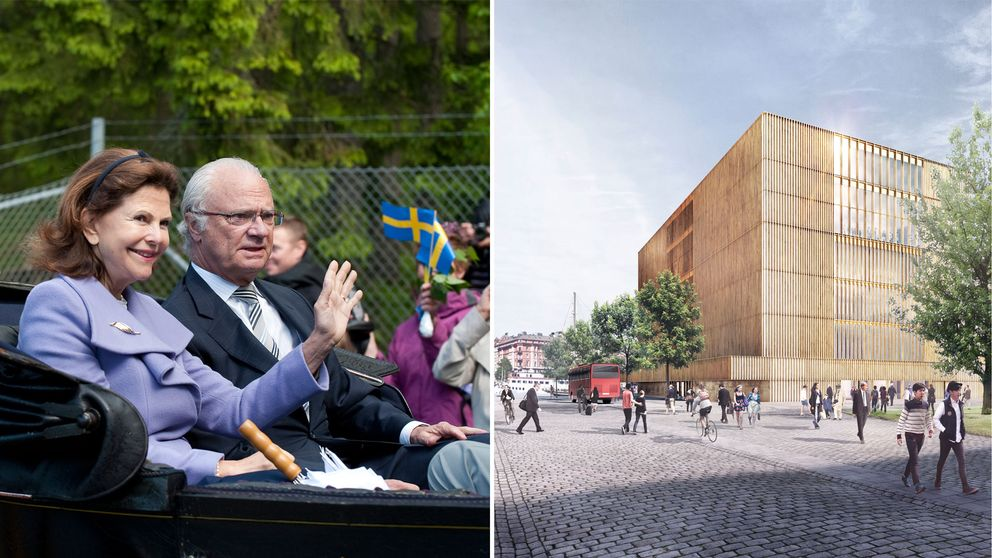 Kungaparet tycker till om Nobel Center
