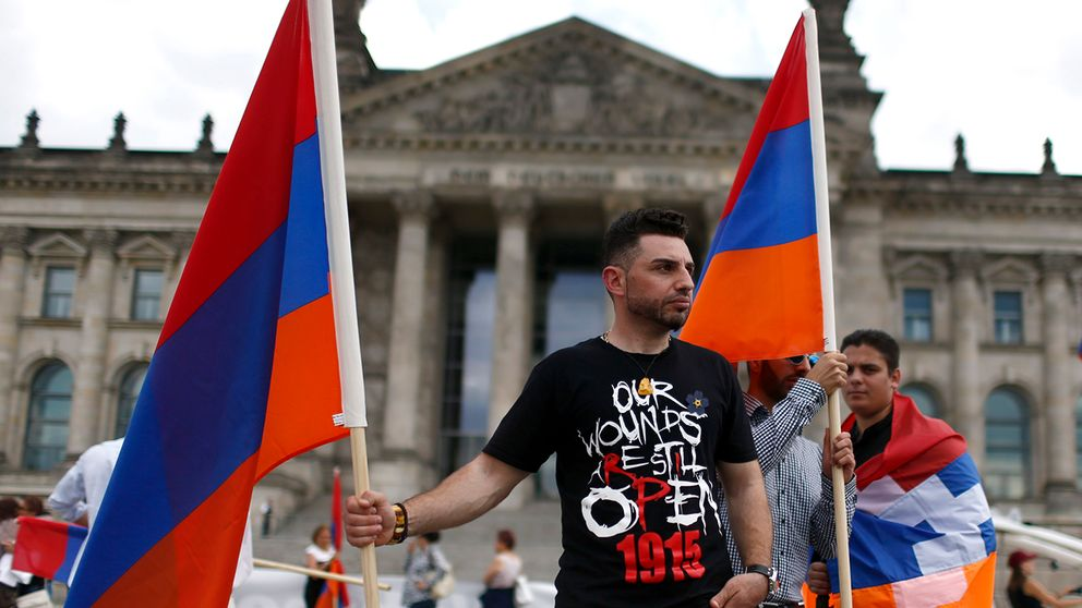 Tysklands Bundestag erkänner folkmordet