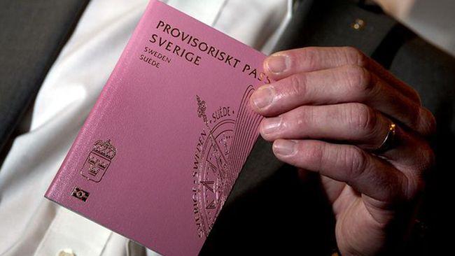 tillfälligt pass