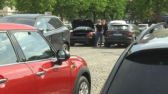 parkeringsskada smitning