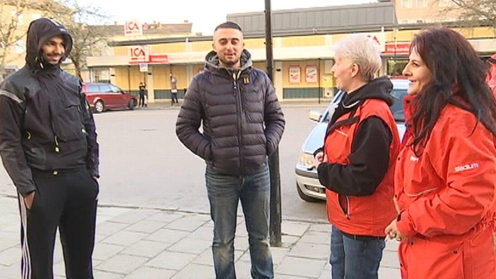 X-cons fick Eskilstunas demokratipris för nattvandringar i Fröslunda